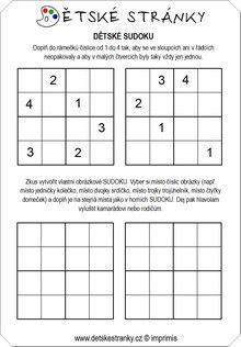 Sudoku pro děti