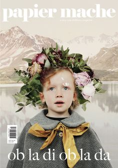 Cover of Papier Mache magazine~Image by Sharon Cooper Photography