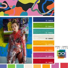 Women's color forecast on trend theme: Primary Instincts, detail. Minimalist Fashion Women, Fashion For Petite Women, Womens Fashion Casual Summer, Office Fashion Women, Summer Fashion Trends, Trendy Fashion, Spring Fashion, High Fashion, American