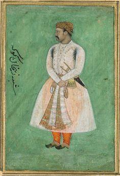 Zain Khan Koka, Mughal Governor of Zabulistan. Late 16th century, Victoria and Albert Museum