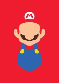 #Minimalism #Mario #Posters