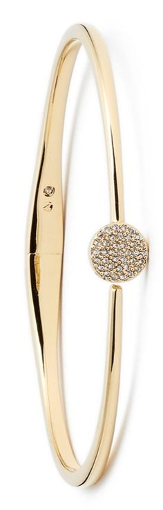 This skinny, sparkly bracelet would look fabulous with a stacked wrist or worn alone as a glittering stand-out piece.