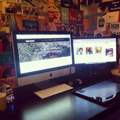 Digital artists desk