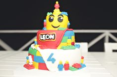 Lego party Theme Parties, Party Themes, Lego, Cake, Desserts, Food, Themed Parties, Tailgate Desserts, Deserts