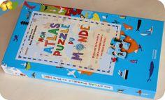 Mon atlas puzzle du monde - éditions De La Martinière Jeunesse