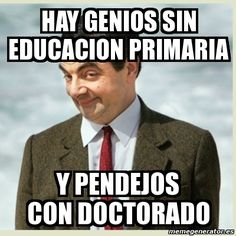 Memes sobre educación, formación, enseñanza, escuela, profesores y alumnos