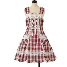 http://www.wunderwelt.jp/products/detail7465.html ☆ ·.. · ° ☆ ·.. · ° ☆ ·.. · ° ☆ ·.. · ° ☆ ·.. · ° ☆ Check hem Scallop jumper skirt BABY THE STARS SHINE BRIGHT ☆ ·.. · ° ☆ How to order ↓ ☆ ·.. · ° ☆ http://www.wunderwelt.jp/user_data/shoppingguide-eng ☆ ·.. · ☆ Japanese Vintage Lolita clothing shop Wunderwelt ☆ ·.. · ☆ #btssb