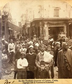 The Cretan Rebellion of 1897 and the Emigration of the Cretan Muslims — Refugee History. Old Pictures, Old Photos, Tree Identification, Greek History, Cultural Identity, Library Of Congress, Alter, Muslim, Greece
