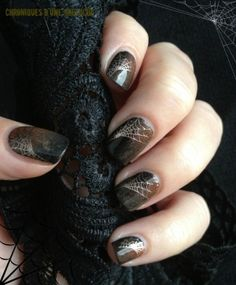 halloween #nail #nails #nailart by deb.lawley