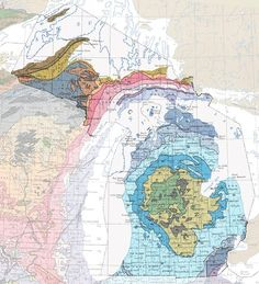 Michigan Geologic Map