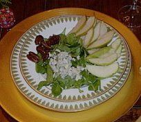 Open Mouth, Insert Fork: Winter Delight Salad - Pears, Candied Pecans & Blue Cheese Make This a Winner  GREAT RECIPE FOR CANDIED PECANS - I made this for Bob and he loved it