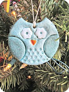 cute salt dough ornament