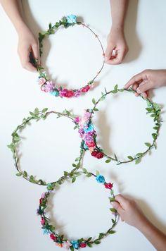 DIY flower crown kit : MichaelsMakers CAKIES