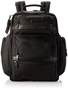"""Matthew shared the Tumi Alpha 2 T-Pass Business Class Brief Pack, Black. After 6 years it looks as good now as it did when he first put it on. It's all he needs for a three day business trip including clothes, toiletries, laptop etc. It allows him to carry a drink & phone while running through an airport, or hold my wife or kids hand after they meet me on my return.  It epitomizes the saying, """"quality never goes out of style""""."""