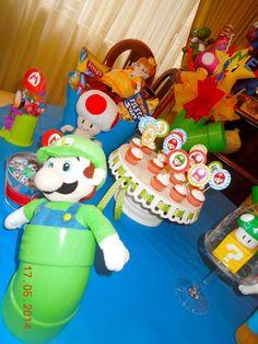 Super Mario Bros Birthday Party Ideas   Photo 2 of 30