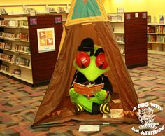 Bugs love to read! #StingersStaycation