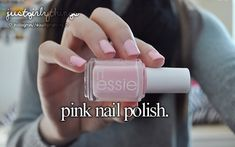 I like any color nail polish but I really love pink blue and sparkly