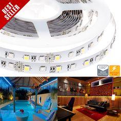 High Power RGBW LED Flexible Light Strip - RGB+White LED Strip
