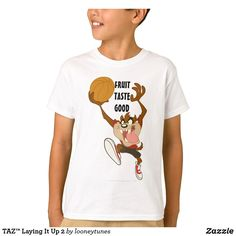 Customizable T-Shirt made by Zazzle Apparel. Looney Tunes Characters, Tasmanian Devil, Closet Staples, Colorful Shirts, Fitness Models, T Shirt, How To Wear, Supreme T Shirt, Wardrobe Staples