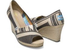 Love Toms! For every pair purchased, Toms will donate a pair of shoes to a child in need.