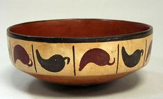 Painted Bowl 1st-6th century Peru Nasca