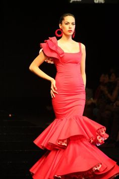Flamenco Dress by Cañavate from Seville