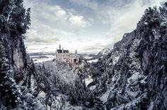 Castle on a mount by Jonas Hmann on 500px