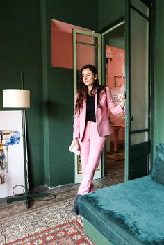 Guillermo Santomá and Raquel Quevedo, Jan 1 year old - The Socialite Family Home Interior Design, Interior Styling, Interior Decorating, Beautiful Houses Interior, Beautiful Bedrooms, Mature Home, Green Painted Walls, Vert Turquoise, Pretty Room