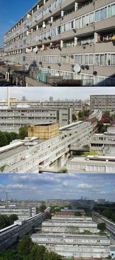 Aylesbury Estate . Southwark . London Council Estate, Council House, Brutalist Buildings, City Buildings, London House, London Street, City Landscape, Urban Landscape