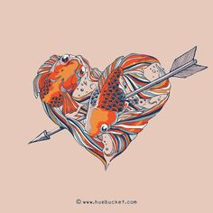 The Heart Series by huebucket , via Behance