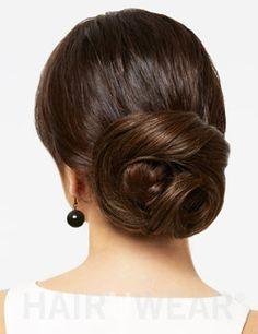 Loop Bun hairpiece easy way to create a chignon loop to your hair with this clip on hairpiece
