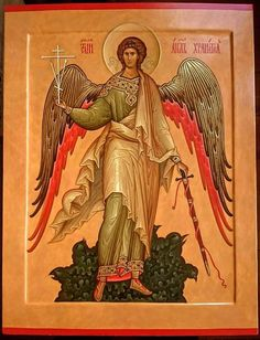 St Michael Tattoo, Orthodox Christianity, Guardian Angels, All Icon, Religious Art, Celestial, Saints, Spirituality, Japan