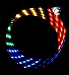 Black Friday: LED Hula Hoop Rainbow von LED Hula Hoop auf DaWanda.com
