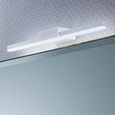 Spiegelleuchten Bad eglo kristall corliano led deckenleuchte 500mm moderne