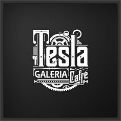Shop for tesla art from the world's greatest living artists. All tesla artwork ships within 48 hours and includes a money-back guarantee. Choose your favorite tesla designs and purchase them as wall art, home decor, phone cases, tote bags, and more! Types Of Lettering, Lettering Design, Hand Lettering, Creative Typography, Typography Letters, Creative Logo, Logo Branding, Branding Design, Design Logos
