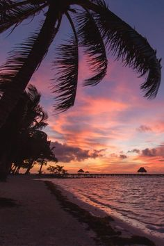 Sunrise - Ambergris Caye, Belize