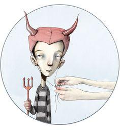 Om syndebukken i DBMagasinet Bullying, Norway, Illustrators, Art Photography, Lisa, Illustration Art, Fairy, Fantasy, Drawings