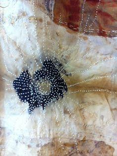 prophet of bloom: Louisiana India Flint India Flint, India India, Shibori, Textile Fiber Art, Textile Artists, How To Dye Fabric, Fabric Art, Motifs Textiles, Fabric Journals