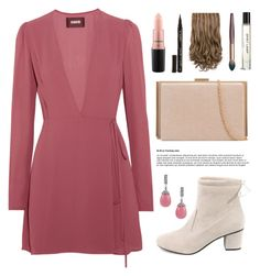 """Rosi"" by novalikarida ❤ liked on Polyvore featuring Reformation, MAC Cosmetics and Smith & Cult"