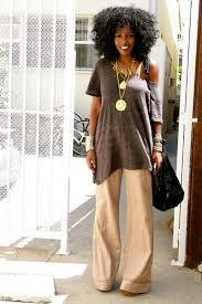 m pantalon Beige-h-m-dress-black-h-m-socks-brown-jessica-simpson-shoes Diva Fashion, Boho Fashion, Fashion Outfits, Afro, Style Pantry, Black Women Fashion, Mode Style, African Fashion, African Style