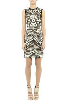 Nicole Miller  Maze Sequin Dress