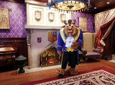 'Be Our Guest' Beast meet & greet.  This was fun even with older kids.  Restaurant was great