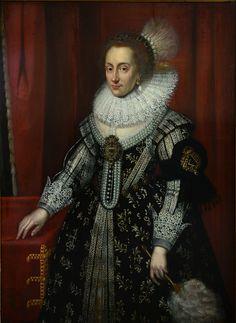Michiel Jansz. van Mierevelt, Elisabeth Stuart, ca. 1629, Gemeentehuis Tholen