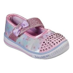 f1824dfbb7a Infant Toddler Girls  Skechers Twinkle Toes Twinkle Play Starry Spark Mary  Jane Sneakers Girls
