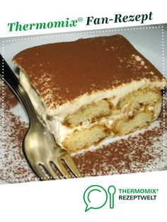 excellent tiramisu from bine Thermomix. A Thermomix ® recipe from the Baking Sweet category www.de, the Thermomix® Community. The post excellent tiramisu appeared first on Woman Casual. Italian Menu, Italian Desserts, Easy Desserts, Dessert Recipes, Italian Foods, Dessert Ideas, Italian Recipes, Easy Tiramisu Recipe, Tiramisu Dessert