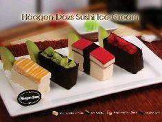 "Bali. Haagen Dazs - Beachwalk  ""Sushi Ice Cream available at Haagen-Dazs Cafe"""