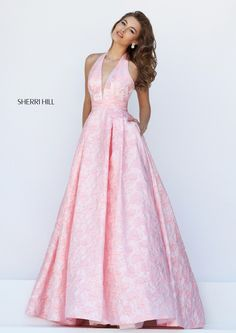 You have been sent a photo from Sherri Hill's Spring 2016 collection via the Sherri Hill mobile application.