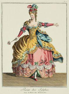 Galerie des Modes, 26e Cahier, 5e & 6e Figures  1779