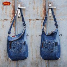 riflová recy taška, džínový originál - pouze 1ks / Zboží prodejce BOGY šmudltašky | Fler.cz
