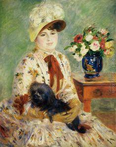 Madame Hagen Pierre Auguste Renoir Reproduction | 1st Art Gallery